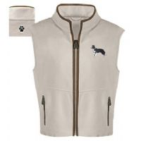 Border Collie Fleece Vest