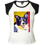 border collie clothing raglan