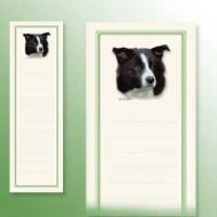 border collie Notepads