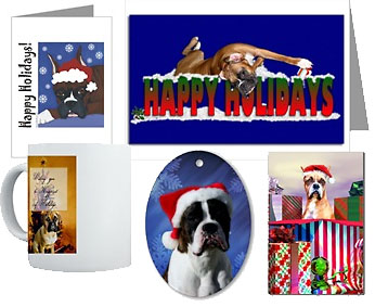 boxer dogs and christmas