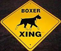 boxer sign