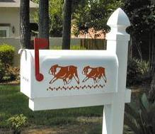english bulldog mailbox