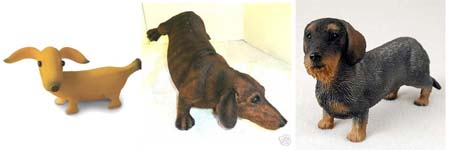 Dachshund Figurines