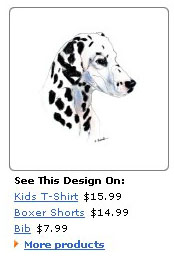 dalmatian clothing and apparel