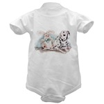dalmatian puppy infant creeper