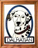 Dalmatian Stained Glass