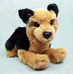 German Shepherd Dog Puppet