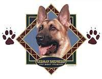 german shepherd dog t-shirt and sweatshirt