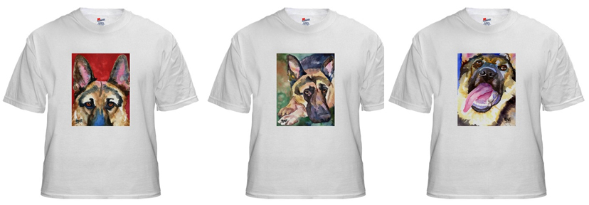 German Shepherd T Shirts and Sweaters