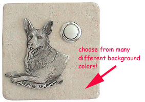 German Shepherd Doorbell