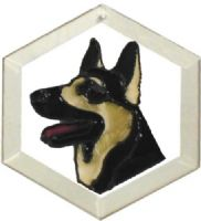 German Shepherd Sun Catcher