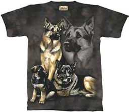 German Sheperd T_shirt