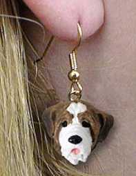 St Bernard Earrings