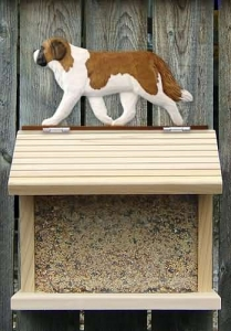 Saint Bernard Bird Feeder