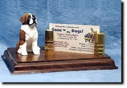 Saint Bernard Business Card Holder