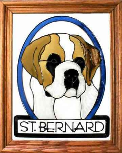 Saint Bernard Stained Glass