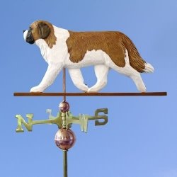 Saint Bernard Weathervane