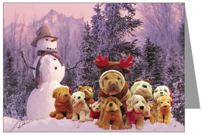 Shar-Pei Christmas Cards