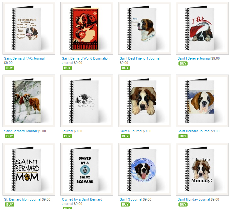 Saint Bernard Journals